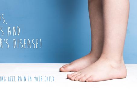 Hands, Knees and Sever's Disease:Explaining heel pain in children