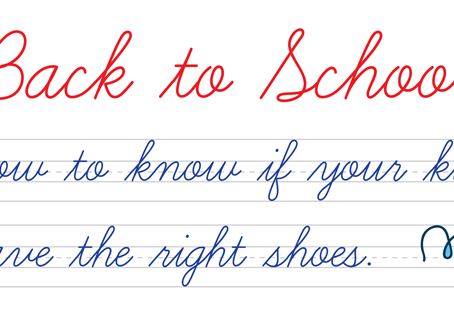 Back to School: How to know if your kids have the right shoes.