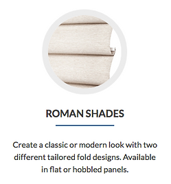 roman shades. Cape Coral blinds shutters