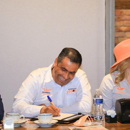 Anuncia El Caballo Lozoya creación de Secretaría de Turismo