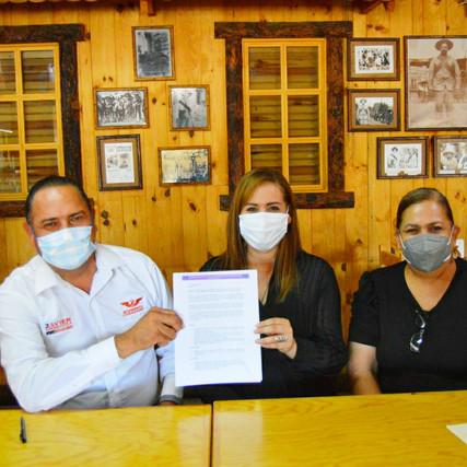 Buscará Javier Mendoza que modelo del Instituto Municipal de las Mujeres sea ejemplo estatal