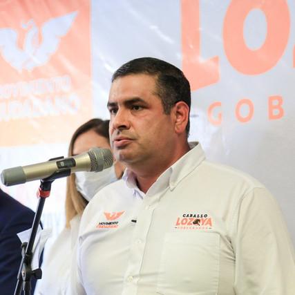 """Propone El Caballo Lozoya reducir las tarifas de agua a través de energías limpias"""""""