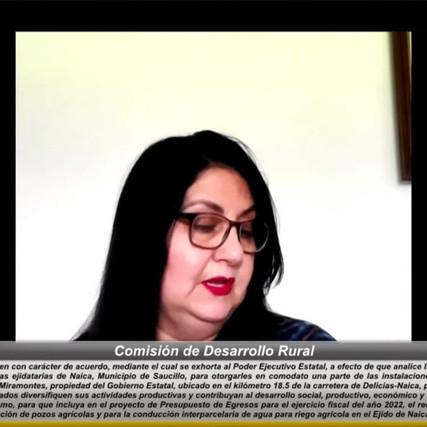 Piden analizar petición para otorgar como comodato parte de vivero a personas ejidatarias de Naica