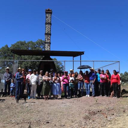 Inauguran horno libre de humo para alfarería Pima en el municipio de Madera