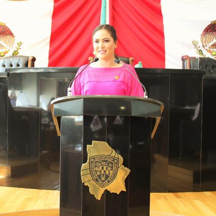 Pide Yesenia Reyes más recursos en materia de salud para instituciones públicas