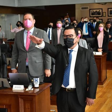 Designa Congreso a Luis Abelardo Valenzuela Holguín como Consejero de la Judicatura del Estado