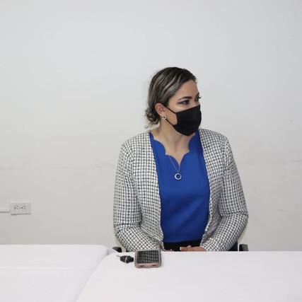 ACUDE ALCALDESA DE CASAS GRANDES A REUNIÓN EN COPARMEX