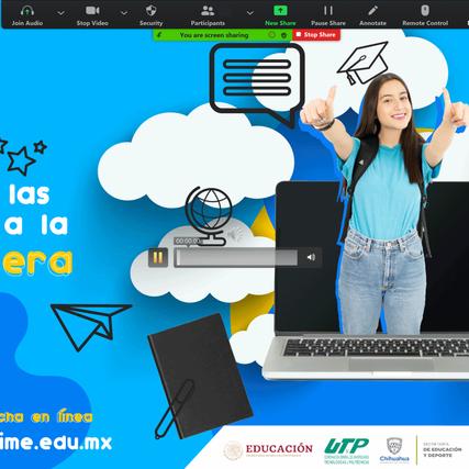 """Realiza Universidad Tecnológica de Paquimé charlas virtuales """"Expo Halcones"""""""