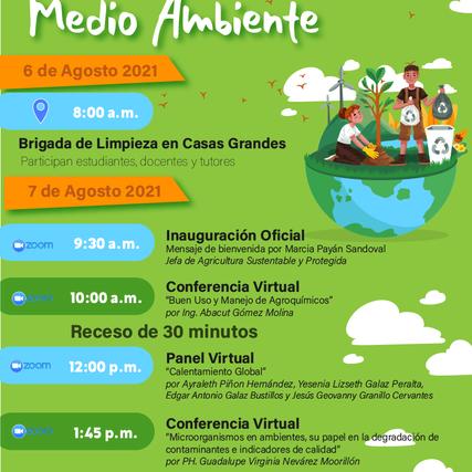 Realizará UT Paquimé primer evento híbrido en beneficio del medio ambiente