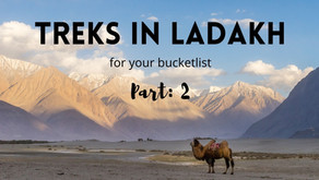 5 Amazing Treks in Ladakh that must be on every Hiker's Bucket List (Part: 2)