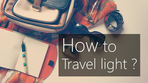 How to travel light? - Packing like a pro.