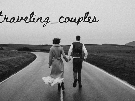 Bloggers/Vloggers who are traveling as a Couple. #Couple_goals