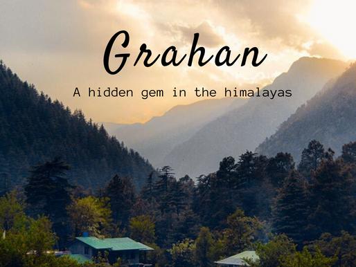 Offbeat destinations (Part 8) - Grahan, Himachal Pradesh