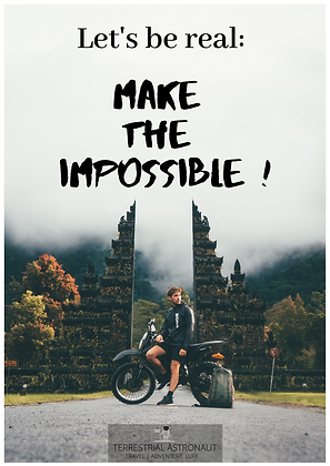 Make the Impossible Poster