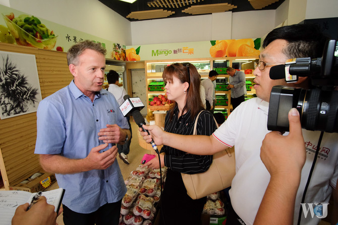 Press from Zhongshan Network: Listen to the Story of the New Zealand Farmer