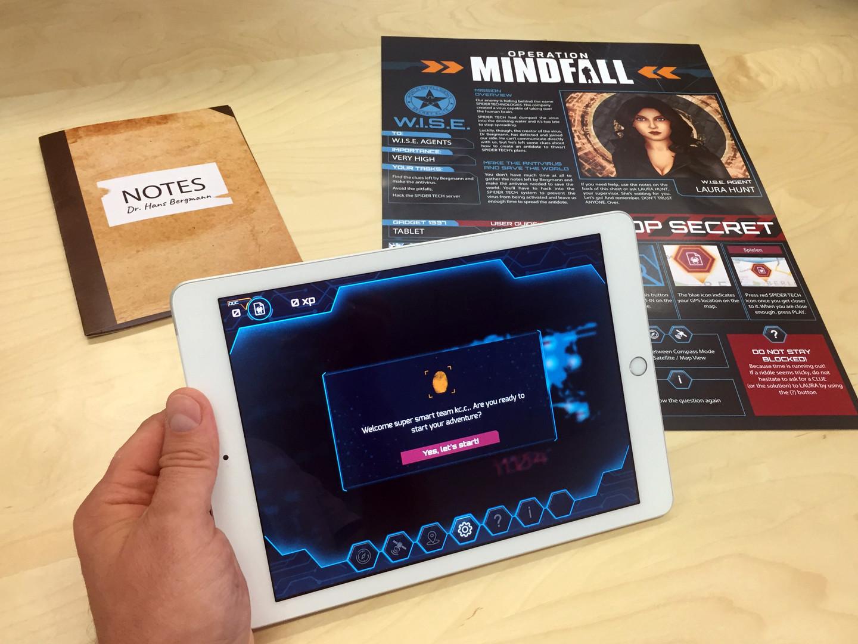 Operation Mindfall Indoor AR Experience