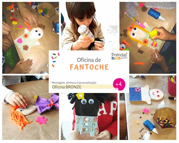 oficina infantil de fantoche para crianças