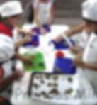 oficina de culinária para criança