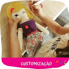 oficina infantil de customização
