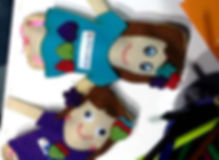 oficina de boneco para criança