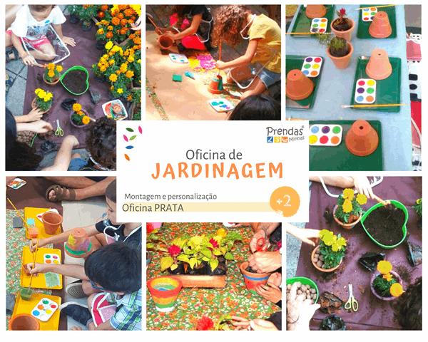 oficina de jardinagem para crianças