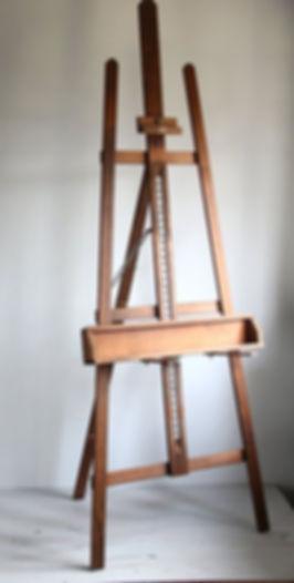 Chevalet huile sur toile - Les peintures de Laura