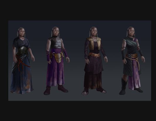 NPC character design