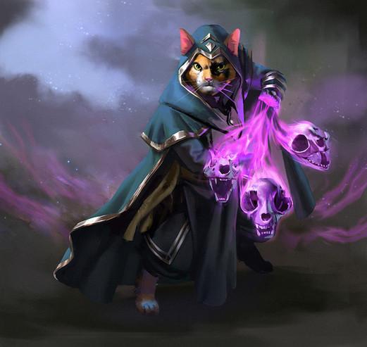'CATaclysm' character design