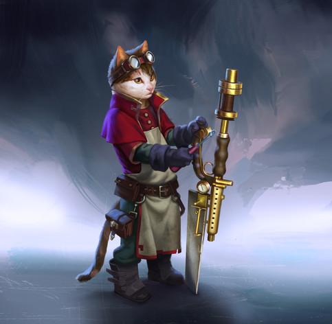 Repair Cat for 'CATaclysm'