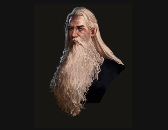 Wizard face