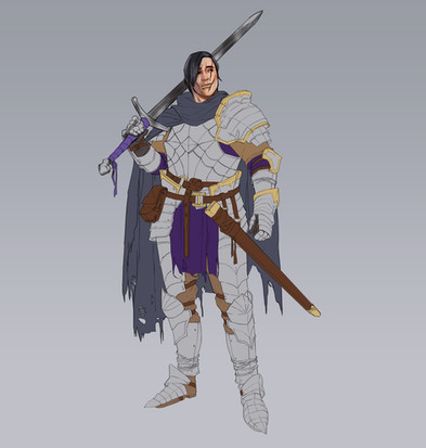 Dark fantasy knight base