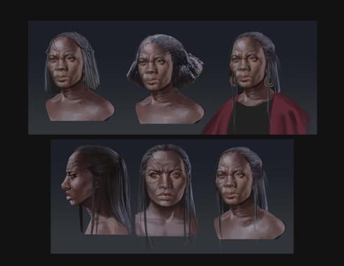 Character portrait design