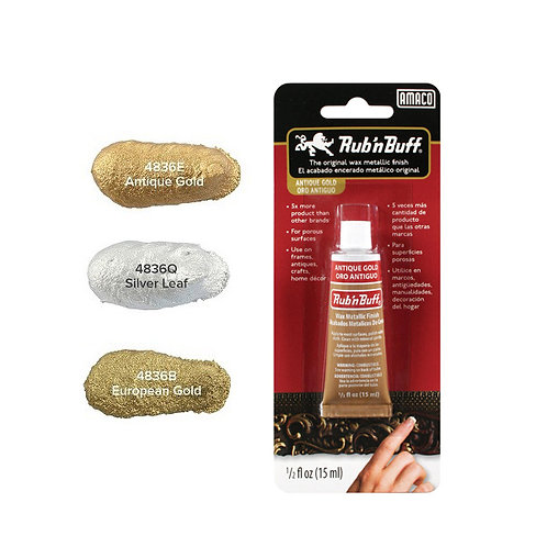 Amaco Rub n Buff Metallic Paste Wax