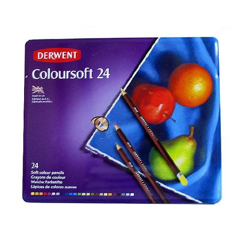 Derwent Coloursoft 24