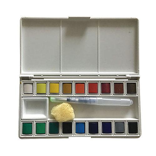 Watercolour Pan Set 18