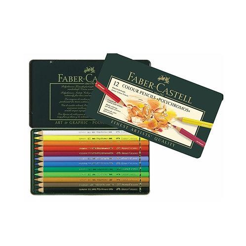 Faber Castell Polychromos Pencils - Set of 12