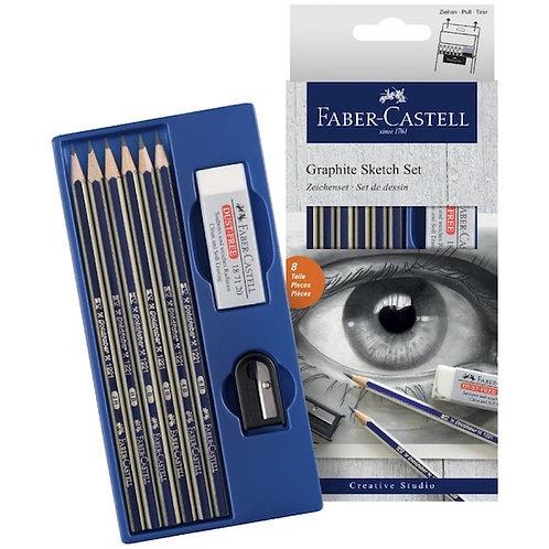 Faber Castell Graphite Sketch Set