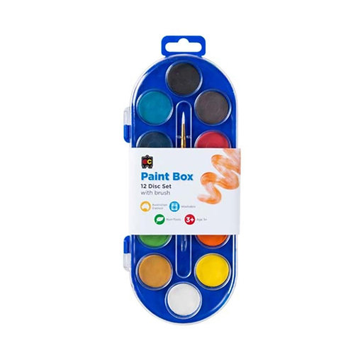 EC Paint Box 12 Disc Set