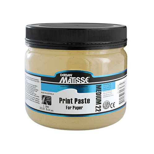 Matisse MM22 Print Paste 1L