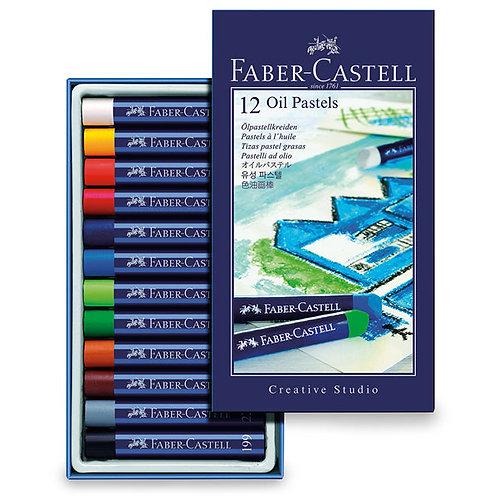 Creative Studio Oil Pastels - Set of 12
