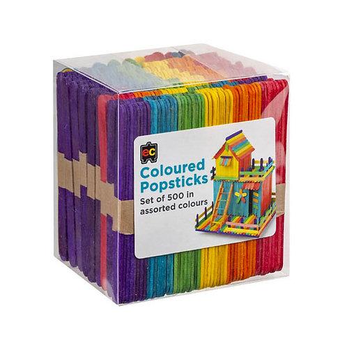 EC Coloured Popsticks