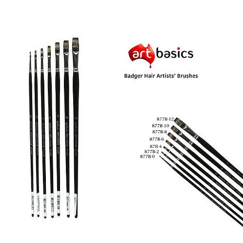 877B Art Basics Badger Hair Bright