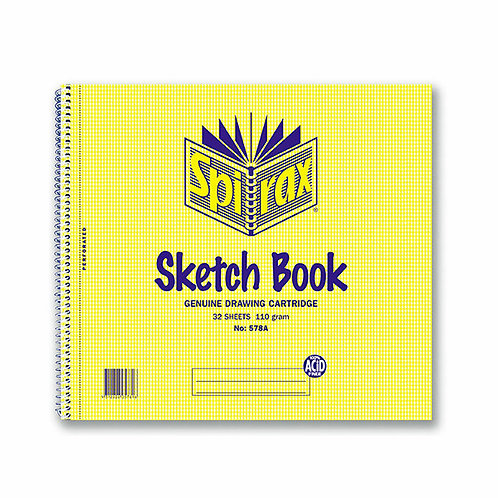 Spirax Sketch Books