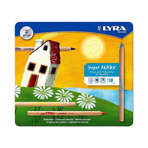 Lyra Super Ferby Nature - Tin Set of 18