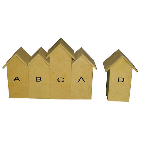 MDF Beach House Set