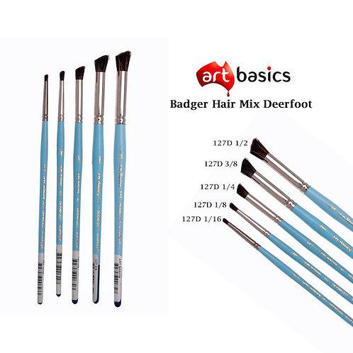 127D Art Basics Badger Hair Mix Deerfoot
