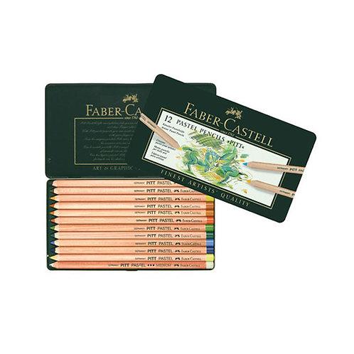 Faber Castell Pitt Pastel Pencils Set of 12