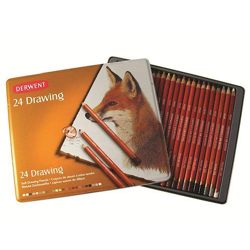 Derwent 24 Drawing Pencils