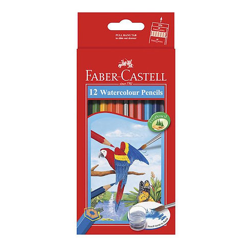 Faber Castell Watercolour Pencils Set of 12