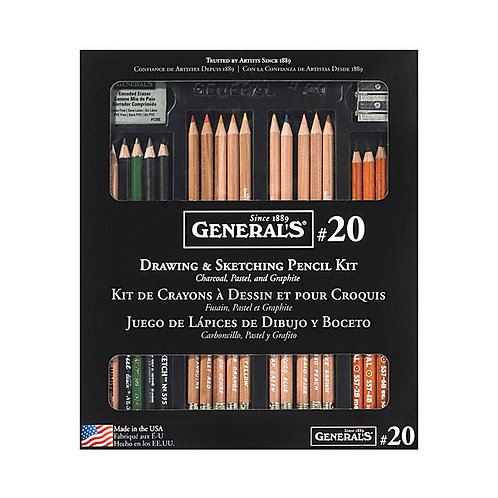 General's #20 Drawing & Pencil Kit
